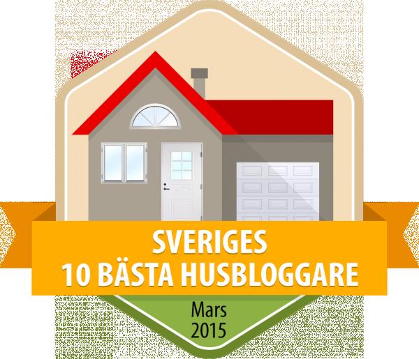 Mars 2015 - 10 b�sta husbloggarna