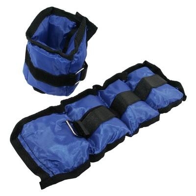 Viktmanchetter - 2 x 0,7 kg blå