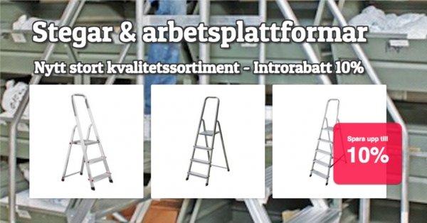 Stegar & arbetsplattformar - Nyheter