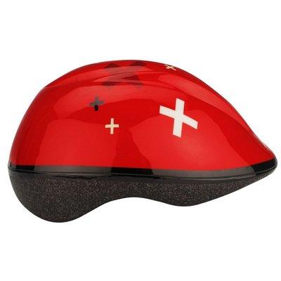 Skate/Cykelhjälm junior - röd
