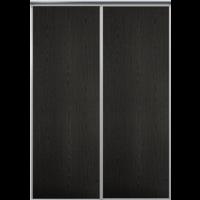 Venedig skjutdörr till garderob - 2 dörrar - Panel - Valfri färg