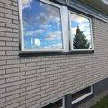 Fast fönster 3-glas - Trä - U-värde 1,1