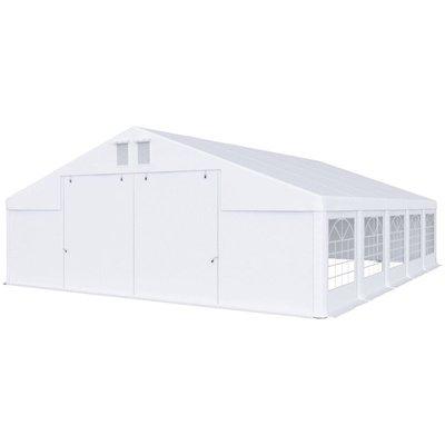 Partytält i PVC - 8 x 10 m