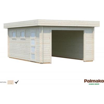 Garage Rasmus med slagport - 19,0 m²