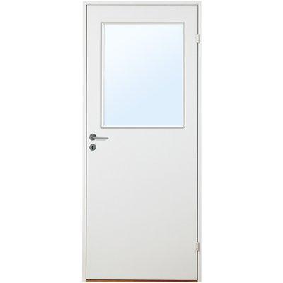 Innerdörr Orust - Slätt kompakt dörrblad med glas G21