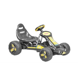 Trampbil - Svart och gul