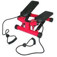 Stepmaskin - Med träningsband & träningsdator (röd S3032)