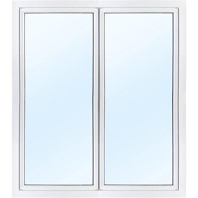 Parfönsterdörr 2-glas - Utåtgående - PVC
