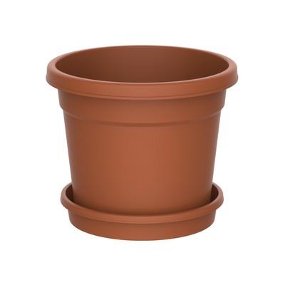 Planteringskruka med fat 21 l
