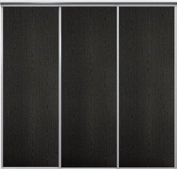Venedig skjutdörr till garderob - 3 dörrar - Panel - Valfri färg