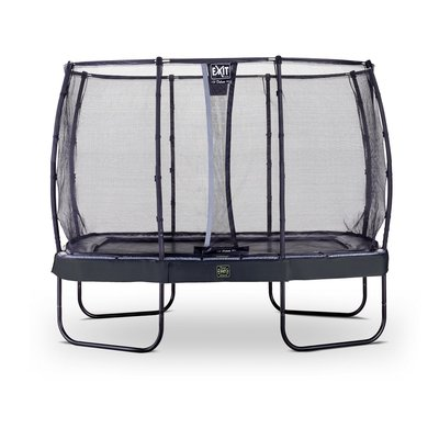 Studsmatta Elegant Premium - Rektangulär 214x366 cm + Säkerhetsnät Deluxe