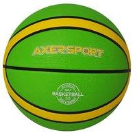 Basketboll - grön & gul (stl 7)