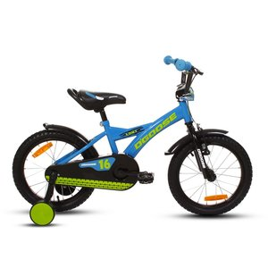 "Cykel DGoose 16"" - blå"