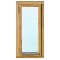 2-glasfönster Trä utåtgående - 1-Luft - Omålat - U-värde 1.3