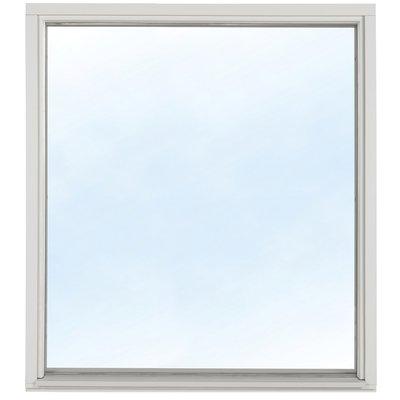 Fast fönster 2-glas - Trä