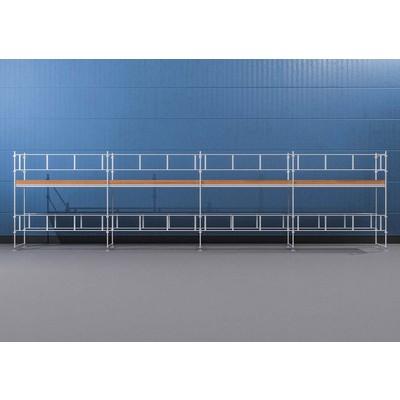 Byggnadsställning Ram 12x4 m - Stål
