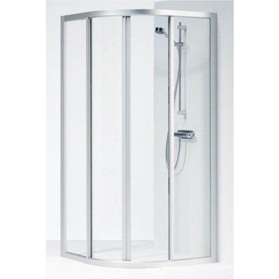 Ifö Solid SVR, kvartsrund duschvägg