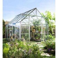 Växthus Magnum - 8,3 m² Aluminum med glas