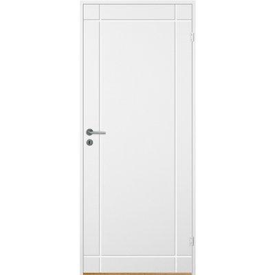 Innerdörr Bornholm - Kompakt dörrblad med spårfräst dekor A4
