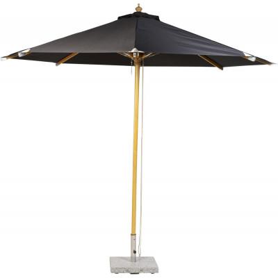 Torvalla parasoll - 3m - Svart/natur