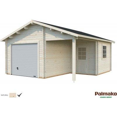 Garage Roger med takskjutport - 21,9+5,2 m²