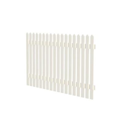 Luise 10 staket - Vit