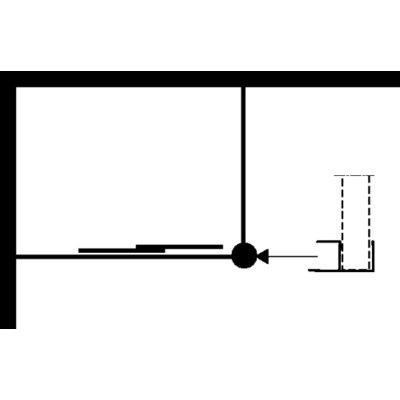 Ifö Solid vinkelkopplingsprofil SVVK