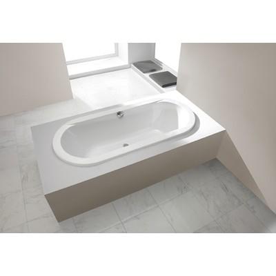 Badkar Oval för inbyggnad - Prestige | Djup 44 cm