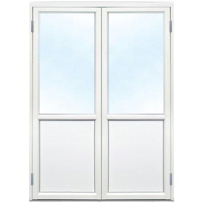Parfönsterdörr - 3-glas - Aluminium - U-värde: 1,1