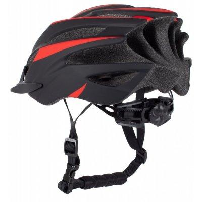 Cykelhjälm - Svart röd