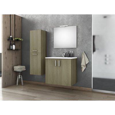 Möbelpaket Ionian 65 - Sandfärgat med spegel och sidoskåp