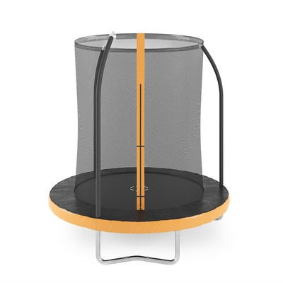 Studsmatta med säkerhetsnät - 185 cm