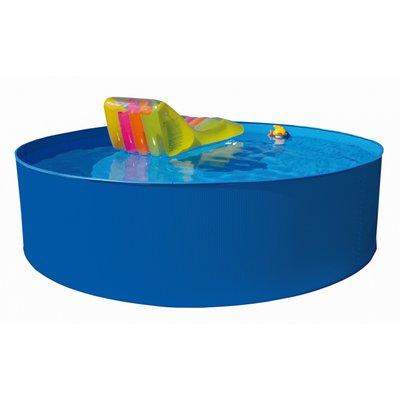 Pool med plåtsarg - 360 x 120 cm