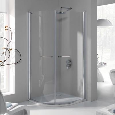 Duschhörn Halvrunt Prestige III - 6mm glas(in- & utåtgående dörrar)