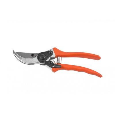 Sekatör med orange handtag - 20 cm