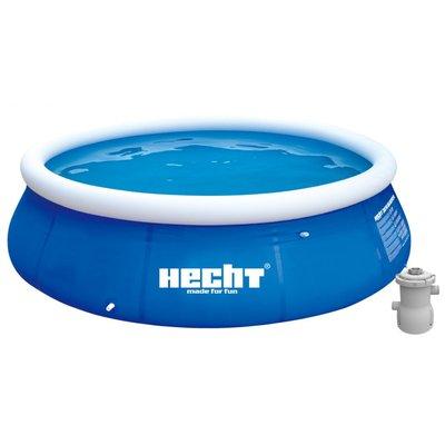 Uppblåsbar pool med vattenfilter - 300 x 76 cm