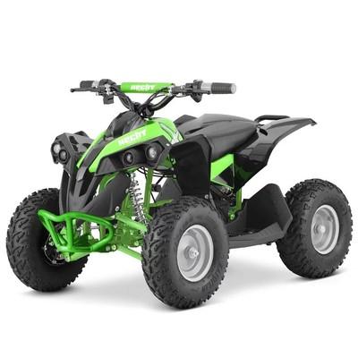 Mini-fyrhjuling Svart & grön - 1060W
