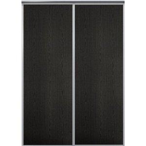 Venedig skjutdörr till garderob - 2 dörrar - Panel (flera färgval)