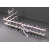 Byggnadsställning HAKI Ram 182m2 - Aluminium