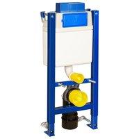 Gustavsberg Triomont XT pneumatisk WC-fixtur