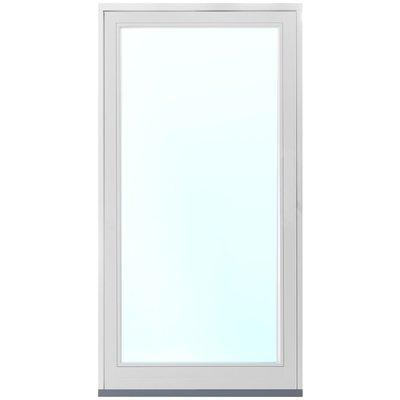 Fasadparti aluminium fast parti - 3-glas