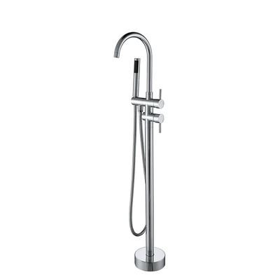 Fristående badkarsblandare L006 - Krom
