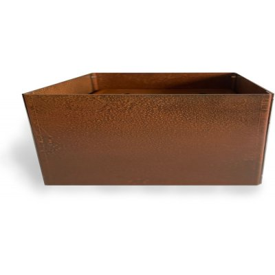Cortenstål kruka rektangulär - 40x80x40 cm