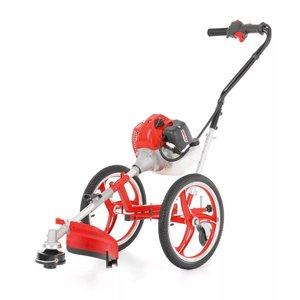Bensindriven grästrimmer på hjul - 52 cc