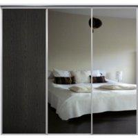 Venedig skjutdörr till garderob - 3 dörrar - Spegel/panel - Valfri färg