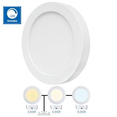 LED spotlight - 1600lm (utanpåliggande alt. infälld)