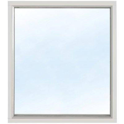 Fast fönster 3-glas - Aluminium - U-värde 1,1