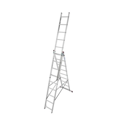 Multifunktionell stege - 3x9 stegs med trappfunktion
