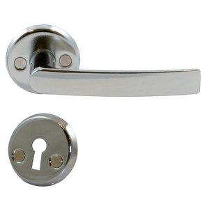 Dörrhandtag för innerdörrar - hög blank krom