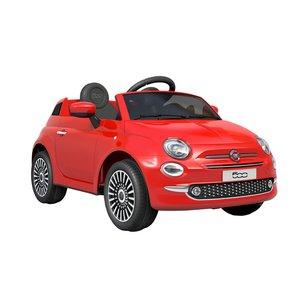 Elbil för barn Fiat 500 - röd